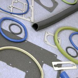 Ledande silikon och fluorsilikonpackningar